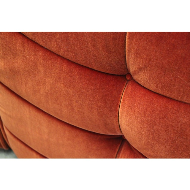 1970s French Modular Mohair Sofa For Sale In San Diego - Image 6 of 13