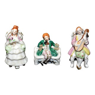Porcelain Musician Figurines - Set of 3