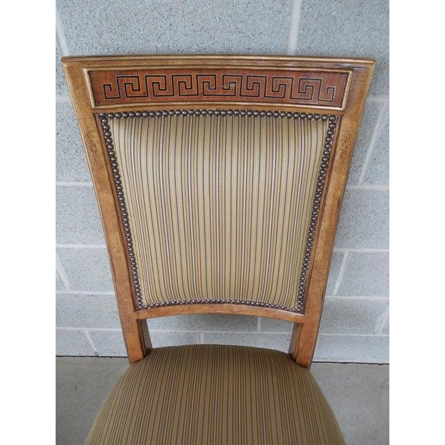 Ferguson Copeland Neoclassical Regency Style Chairs - Set of 8 - Image 3 of 11