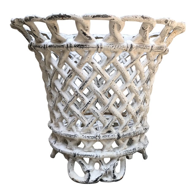 Cast Iron Plant Container - Image 1 of 6