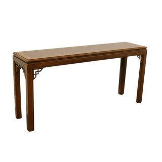 20th Chippendale Drexel Collection Entryway Table