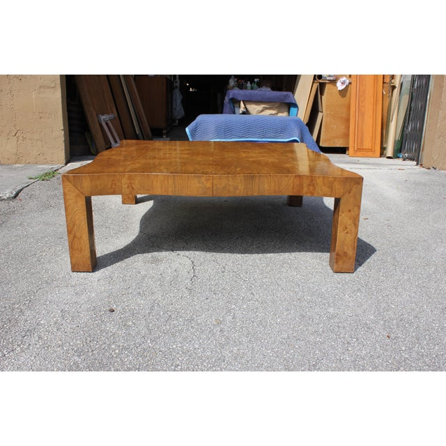 1970s 1970s Danish Modern Cherry Wood Coffee Table For Sale - Image 5 of 13
