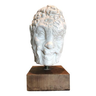 Vintage Austin Productions Plaster Bust of Pan