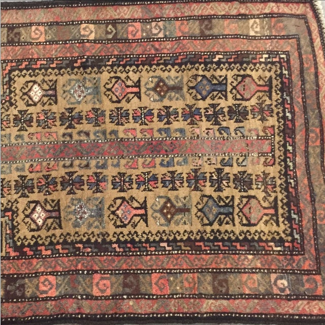 Traditional Baluchi Persian Rug - 2'6 x 3'6'' - Image 4 of 7