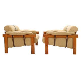 Danish 'Lissabon' Lounge Chairs by Bramin Møbler - a Pair For Sale
