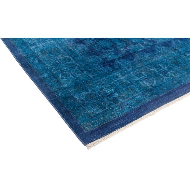 """Vibrance Hand Knotted Area Rug - 8' 0"""" X 9' 10"""" - Image 2 of 4"""