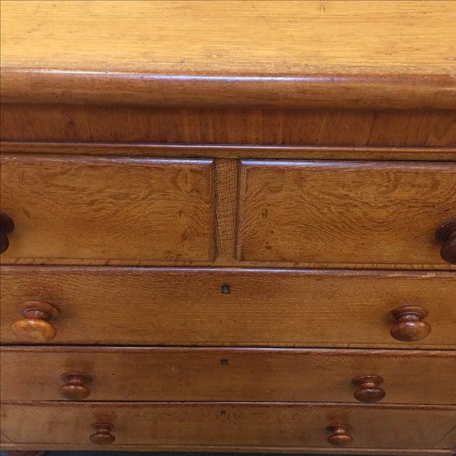 Vintage Oak 5 Drawer Dresser - Image 4 of 6