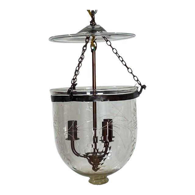 Vintage Bell Jar Lantern, Austria Circa 1960 For Sale