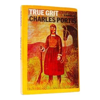 "1960's Vintage ""True Grit"" Book by Charles Portis For Sale"