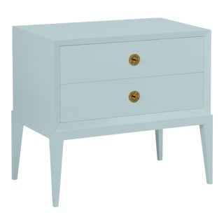Casa Cosima Hayes 2-Drawer Side Chest, Smoke For Sale