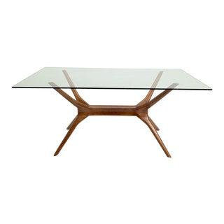 Mid-Century Modern Sputnik Dining Table For Sale