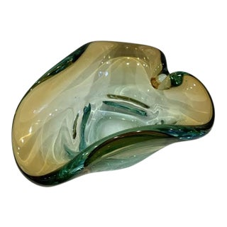 Mid 20th Century Italian Mid-Century Art Glass Bowl For Sale