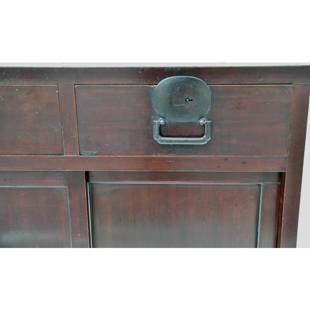 Late 19th Century Early Meiji Period Japanese Choba Tansu For Sale - Image 5 of 8