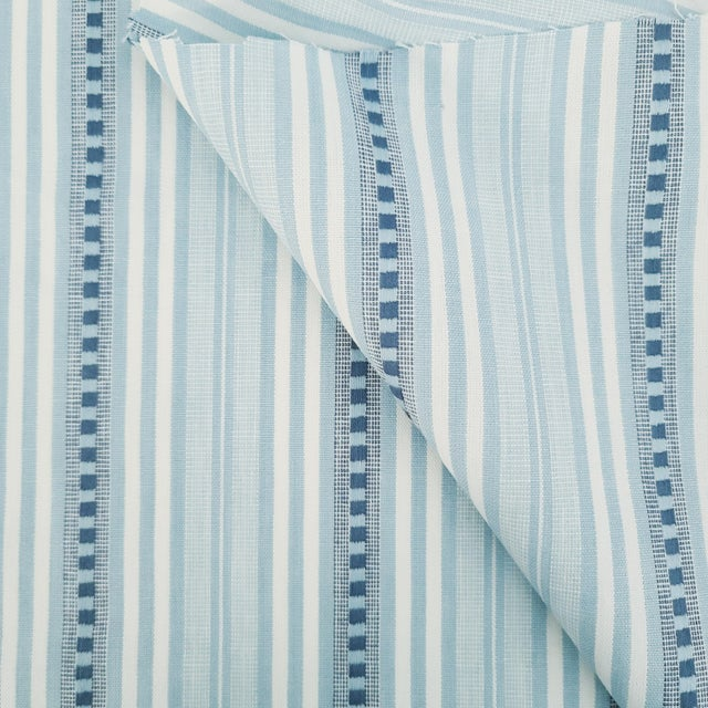 American Holland & Sherry Santorini Stripe Cotton Designer Fabric by the Yard For Sale - Image 3 of 3