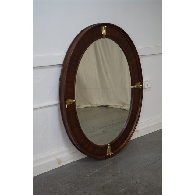 Bob Mackie American Drew Art Deco Mirror For Sale - Image 5 of 10