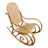 Image of Mid-20th Century Thonet Bentwood Rocking Chair For Sale