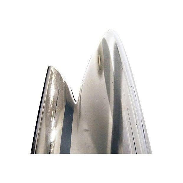 Hans Jensen Modernist Silver Bud Vase - Image 5 of 7