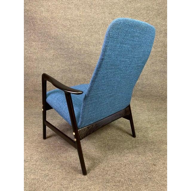 Metal Mid Century Vintage Alf Svensson for Dux Scandinavian Lounge Chair For Sale - Image 7 of 11