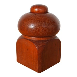 Vintage Dansk Danish Teak Pepper Mill Peppermill For Sale