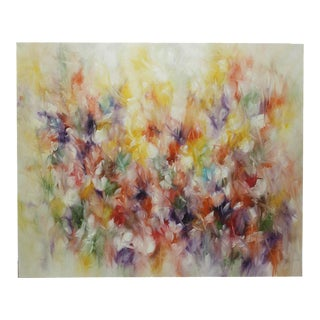 'Petals' Contemporary Oil Painting