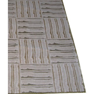 Modern Decorative Tibetan Hand-Knotted Rug 6' X 4'ft Preview
