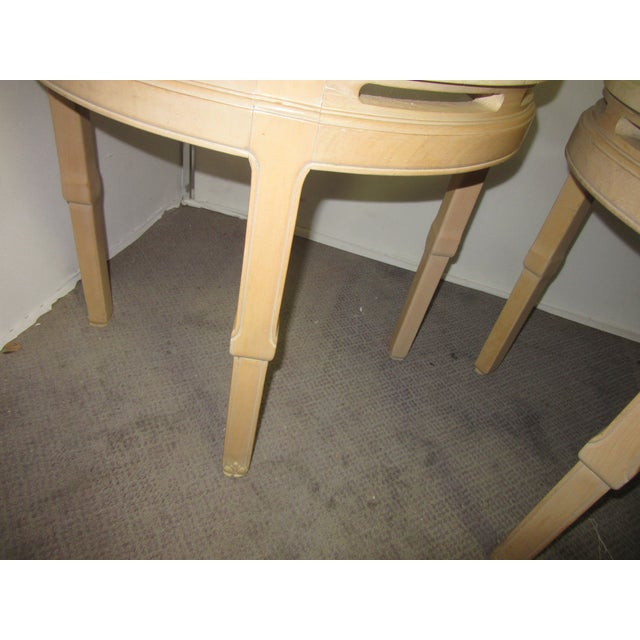 Asian Asian Style Round Table With Marble Tops - a Pair For Sale - Image 3 of 8