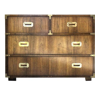 1970s Lane Campaign 4-Drawer Chest For Sale
