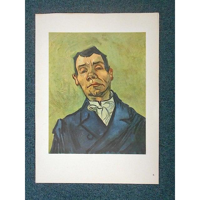Green Vintage Ltd. Ed. Post-Impressionist Lithograph-Vincent Van Gogh (Fr. 1853-'90) For Sale - Image 8 of 8