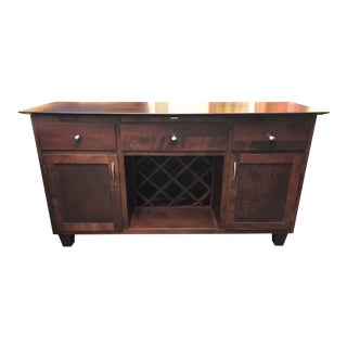 Traditional Custom Dinec Wooden Sideboard