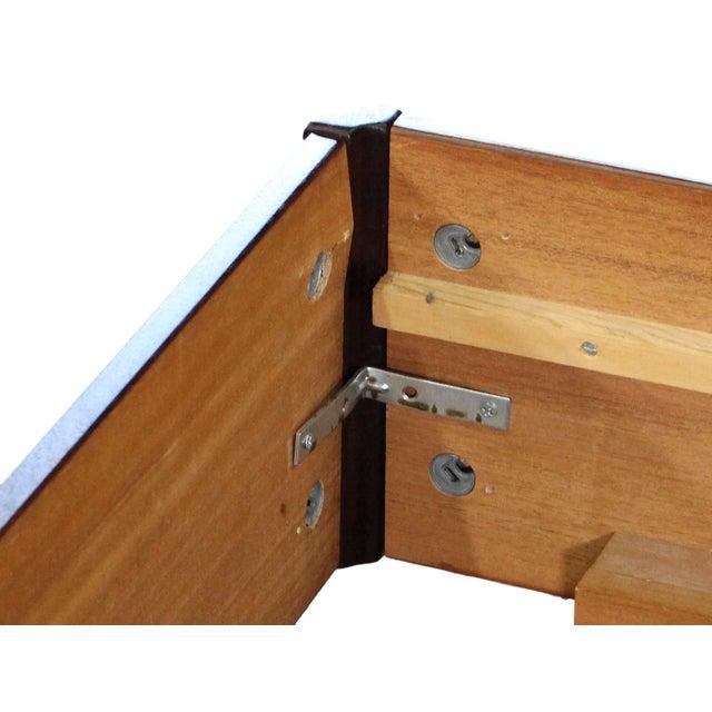 Wood Danish Rosewood King Size Platform Bed For Sale - Image 7 of 11