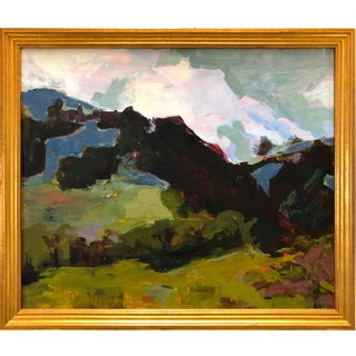 Lynne Millar Sunol Oil Painting For Sale