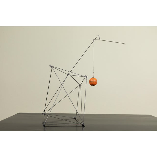 Abstract Kinetic Sculpture by Dan Levin For Sale - Image 3 of 7