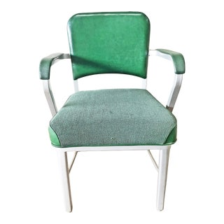 Vintage Industrial Green Office Chair by Emeco