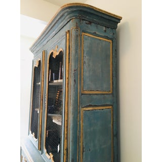 Antique French Blue Hutch Preview