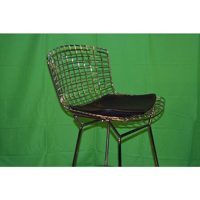 Modern Knoll Bertoia Barstool For Sale - Image 3 of 8