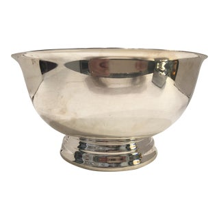"8.25"" Silver Plated Bowl By Towle For Sale"