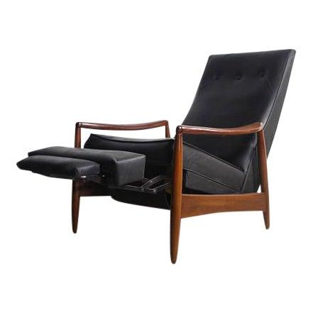 Milo Baughman Highback Recliner Chair For Sale