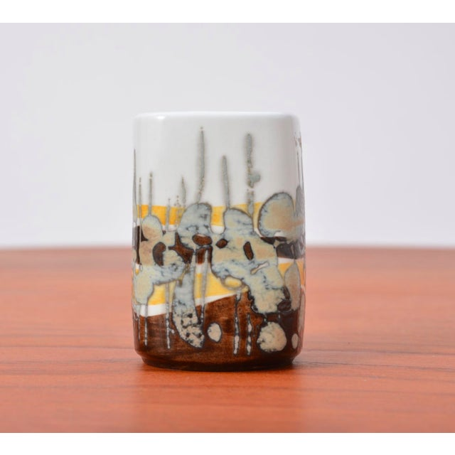 Small Baca Vase by Ivan Weiss for Royal Copenhagen, 1960s For Sale - Image 6 of 6