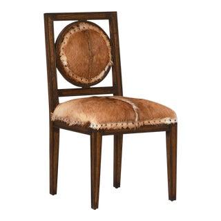 Wood & Fur Dining Chair