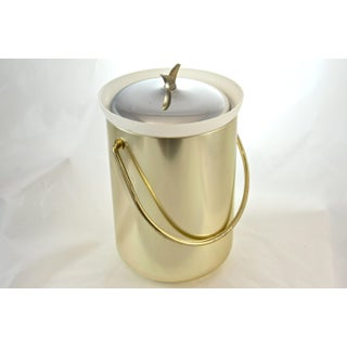 Mid-Century Modern Gold Finish Ice Bucket Preview