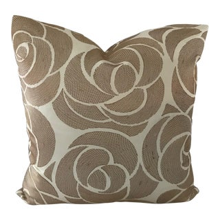 """Manuel Canovas New Custom Made 20.5"""" Square Pillow For Sale"""