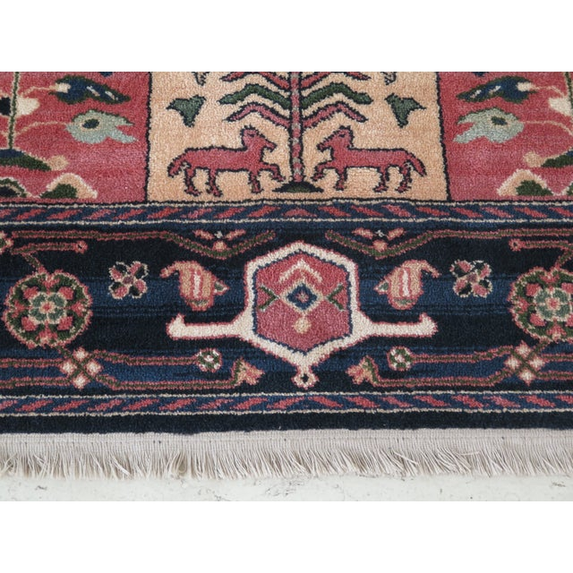 1990s Vintage Karastan Pictorial Rug- 8′7″ × 11′6″ For Sale In Philadelphia - Image 6 of 10