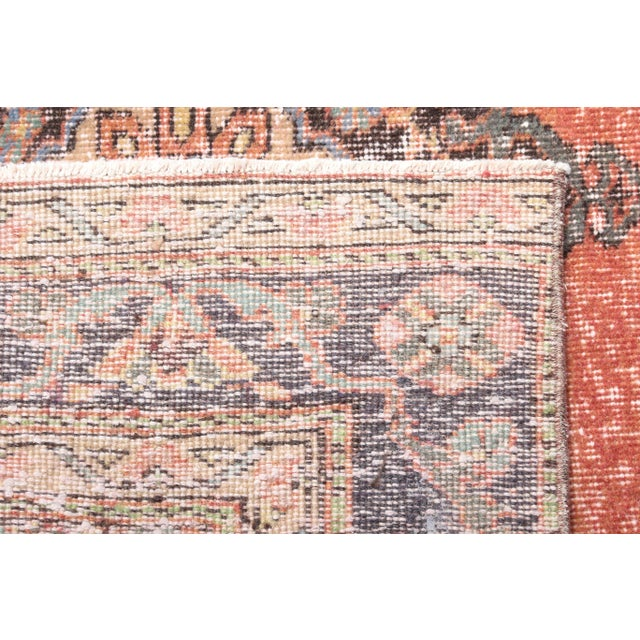 """1960's Vintage Turkish Hand-Knotted Wide Runner Rug - 4'4"""" X 12'5"""" For Sale - Image 10 of 11"""