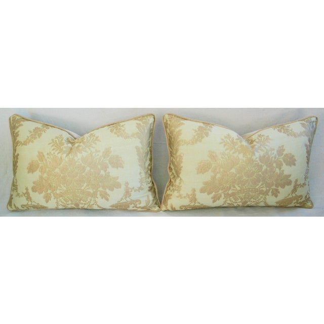 Italian Mariano Fortuny Boucher Pillows - A Pair - Image 5 of 11