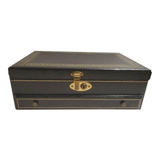 Vintage Mid Century Jewelry Box For Sale
