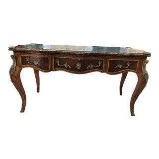 Louis XV Style Bureau Plat/Plat Writing Desk For Sale