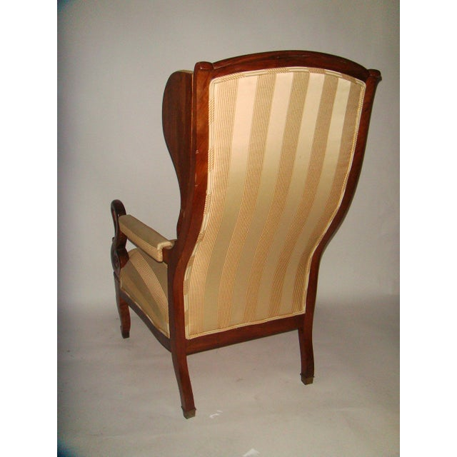 Louis Phillipe Wing Back Armchair - Image 5 of 6