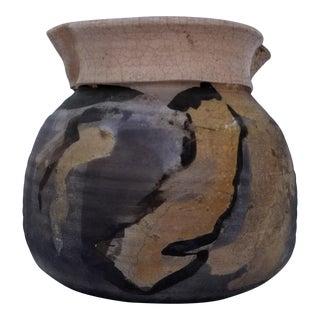 1970s Vintage R. Schoosi Mid-Century Pottery Vase For Sale