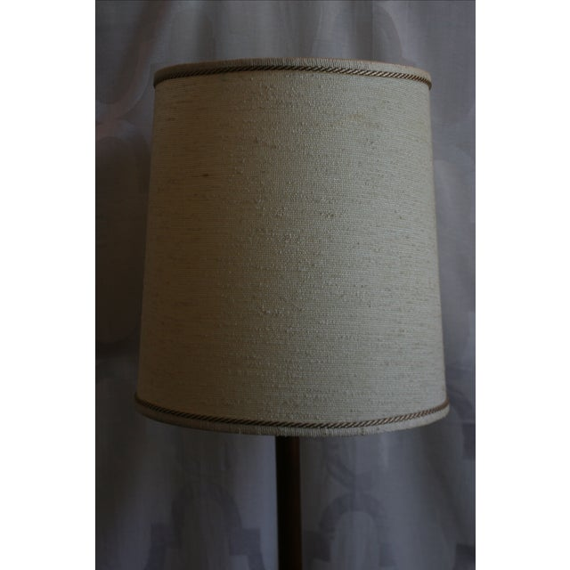 Mid-Century Briard Style Side Table Floor Lamp For Sale - Image 9 of 10