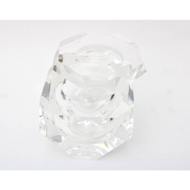 Alessandro Albrizzi Clear Lucite Ice Bucket - Image 7 of 7